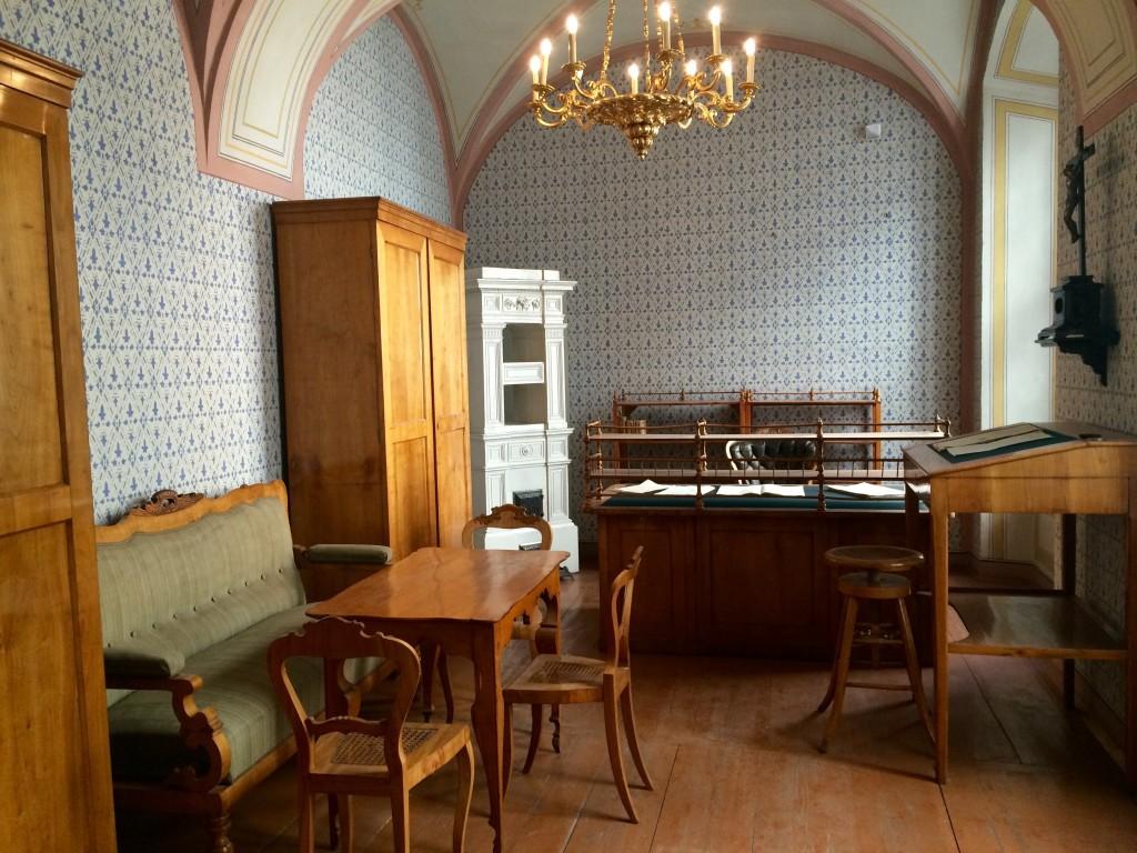 Hier hat einst Franz Grillparzer gearbeitet.
